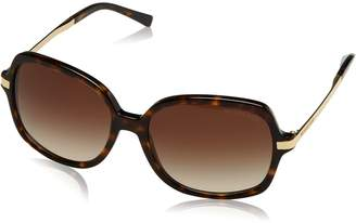 Michael Kors 2024 216213 Print Adrianna II Butterfly Sunglasses Lens Category 3