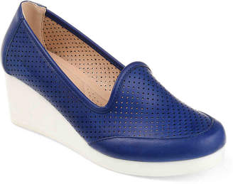 Journee Collection Safire Wedge Loafer - Women's