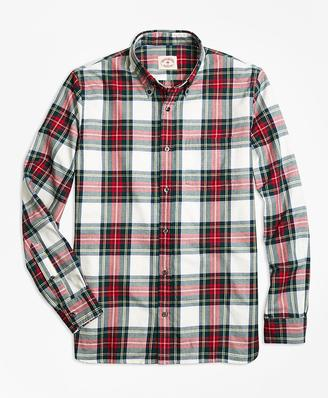 Royal Tartan Brushed-Cotton Flannel Sport Shirt $59.50 thestylecure.com