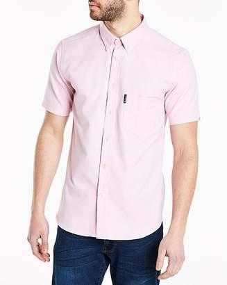 Ben Sherman Short Sleeve Oxford Shirt L