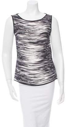 Narciso Rodriguez Printed Sleeveless Top