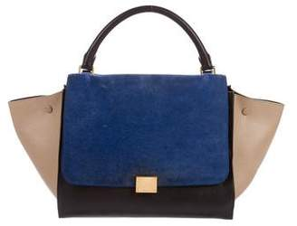 Celine Tri-Color Medium Trapeze Bag