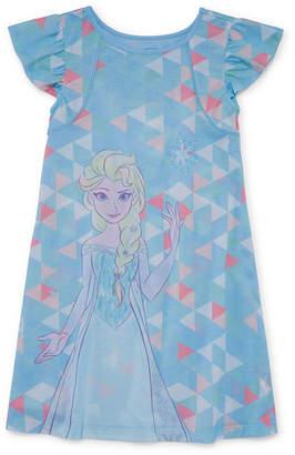 Disney Frozen Short Sleeve Nightshirt