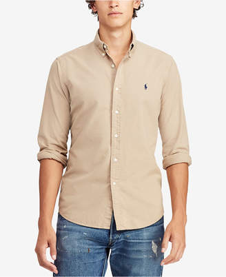 Polo Ralph Lauren Men Big & Tall Classic Fit Oxford Shirt