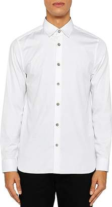 Ted Baker Bylly Satin Stretch Regular Fit Button-Down Shirt