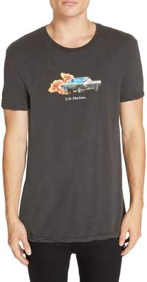 Ksubi Life Machine Graphic T-Shirt