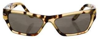 Carrera Narrow Tortoiseshell Sunglasses
