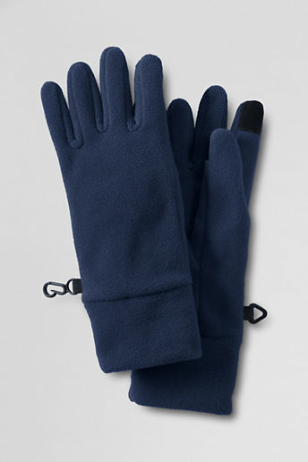 Lands' End Kids' Solid ThermaCheck®-100 Gloves