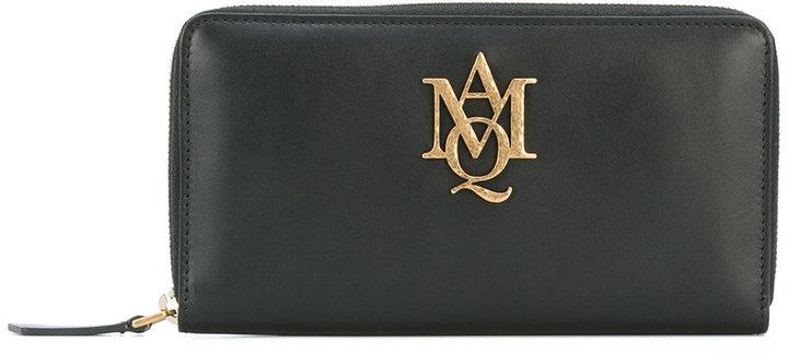 Alexander McQueenAlexander McQueen Insignia zip-around wallet