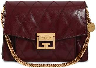 Givenchy Small Gv3 Leather Matelassè Shoulder Bag