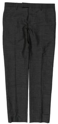 Saint Laurent 2013 Flat Front Dress Pants