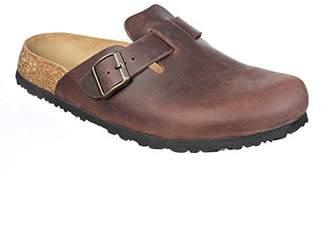 N. JOE JOYCE Soft Slippers Clogs Shoes Leather Narrow - Mens and Womens Habana 40 EU