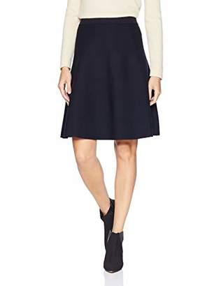 Lark & Ro Women's Flared Sweater Skirt