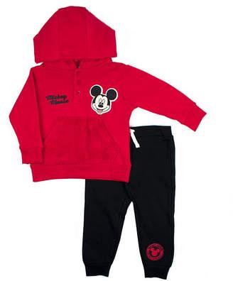 DISNEY MICKEY MOUSE Disney Mickey Mouse Fleece Pant Set-Toddler Boys