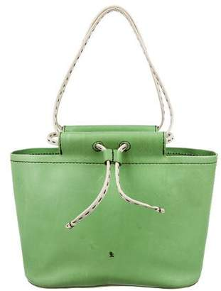 Henry Beguelin Leather Drawstring Bucket