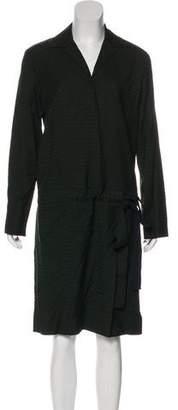 MS MIN Midi Long Sleeve Dress