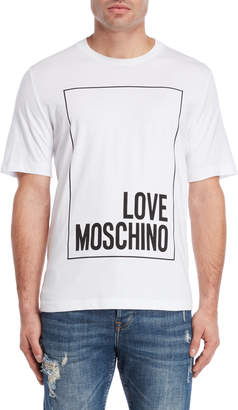 Love Moschino Box Logo Tee