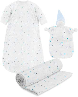 Under the Nile 3-Piece Organic Egyptian Cotton Muslin Starry Gift Set