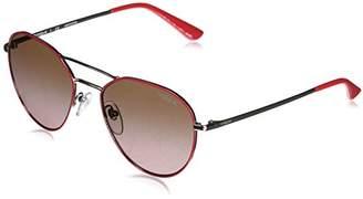 Vogue Women's Metal Woman Non-Polarized Iridium Aviator Sunglasses