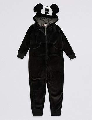 """Marks and Spencer Mickey Mouseâ""""¢ Hooded Onesie (1-16 Years)"""