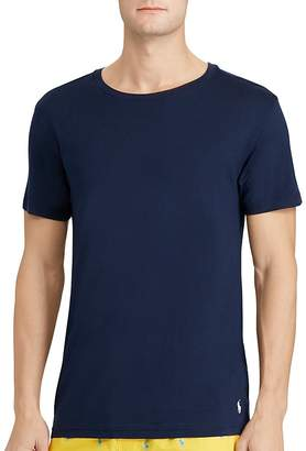 Polo Ralph Lauren Cotton Modal Crewneck Sleep Tee $28 thestylecure.com