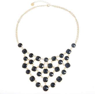 MONET JEWELRY Monet Jewelry Womens Black Statement Necklace