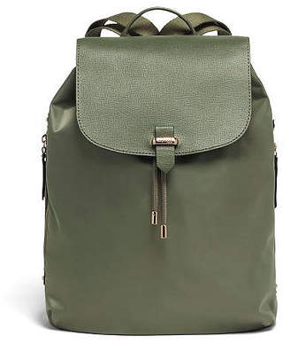 "Lipault Plume Avenue 15"" Laptop Backpack Olive Green"