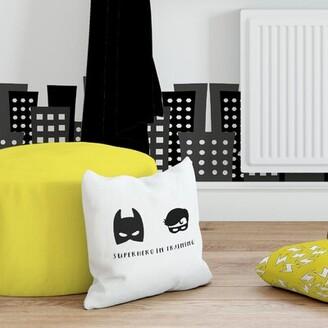 Zoomie Kids Carrick Superhero in Training Throw Pillow Zoomie Kids
