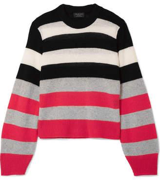 Rag & Bone Annika Striped Cashmere Sweater - Pink