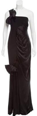 Valentino One-Shoulder Evening Dress w/ Tags