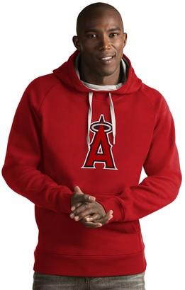 Antigua Men's Los Angeles Angels of Anaheim Victory Logo Hoodie