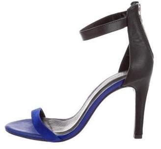 Joie Bi-Color Ankle-Strap Sandals