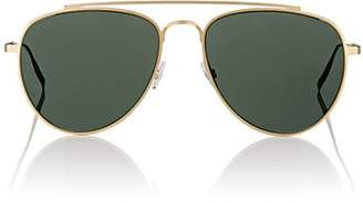 Tomas Maier Women's Aviator Sunglasses - Green