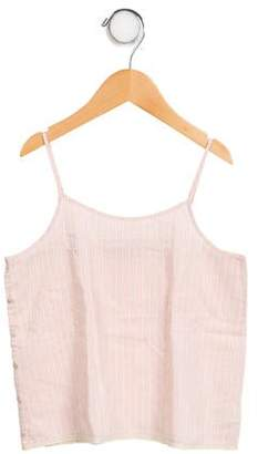 Caramel Baby & Child Girls' Sleeveless Striped Top