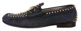 Gucci Horsebit Studded Loafers