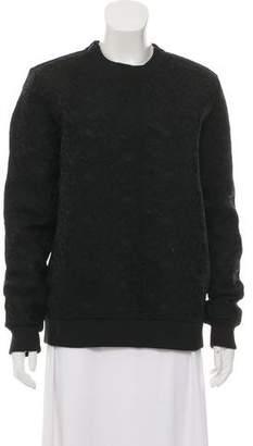 Givenchy Floral Mesh Sweatshirt