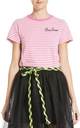 Women's Marc Jacobs Print Patchwork Tee $150 thestylecure.com