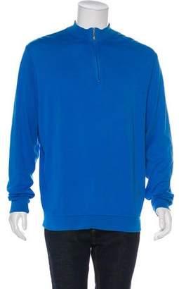 Peter Millar Long Sleeve Zip-Up Top