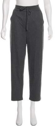 Raquel Allegra High-Rise Metallic Sweatpants w/ Tags