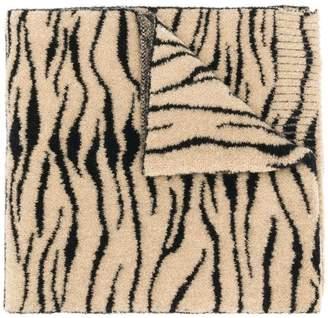 Ssheena zebra print scarf