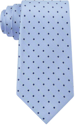 Club Room Men's Polka Dot Tie, Only at Macy's $52.50 thestylecure.com