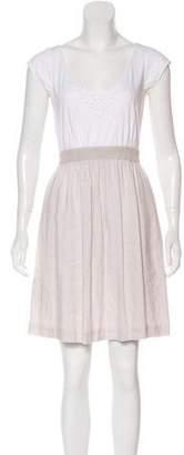 Rebecca Taylor Mini Cap Sleeve Dress