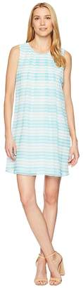 Calvin Klein Printed Sleeveless A-Line Dress Women's Dress
