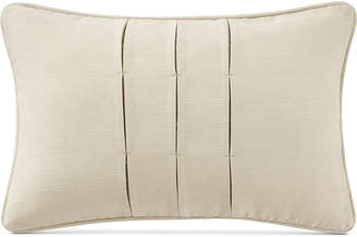 """Waterford Charlize Pleated Gold 12"""" x 18"""" Decorative Pillow"""