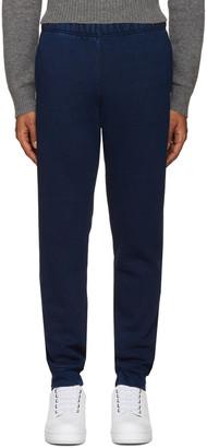 Levi's Indigo Fleece Lounge Pants $85 thestylecure.com