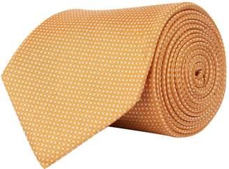 Corneliani Dotted Silk Tie