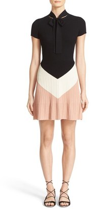 Women's Red Valentino Rib Knit Sweater Dress $650 thestylecure.com