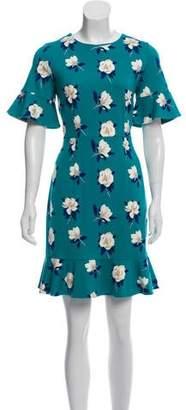 Draper James Floral Print Midi Dress