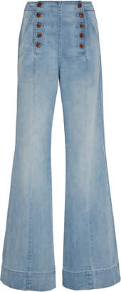 Ulla Johnson Susie Sailor Jeans