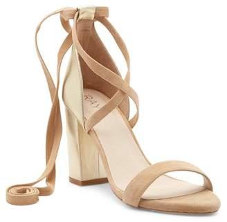 Raye Layla Contrast Lace-Up Sandal